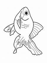 Ausmalbilder Fische Aquarium Fish Coloring Ausdrucken Zum Malvorlagen Kostenlos Template sketch template