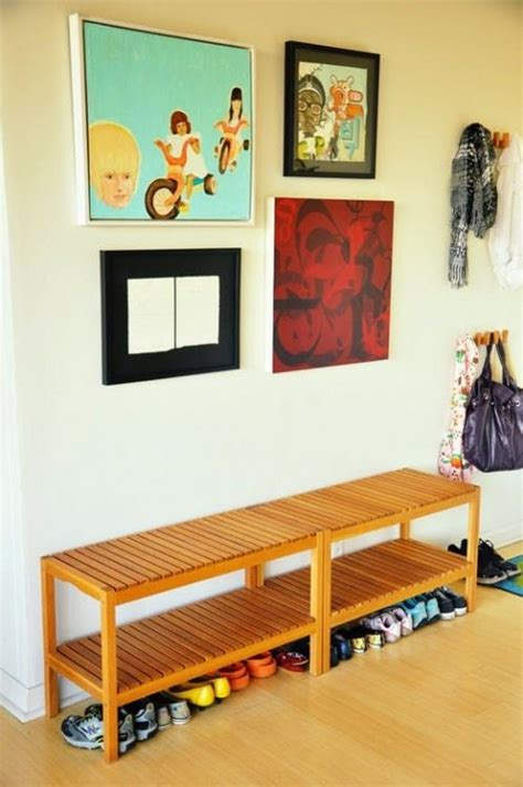 Entryway Benches Ikea by 20 Ways To Use Ikea Molger Bench Around The House