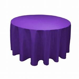 Nappe De Table Ronde : location nappe ronde en tissu en moselle ~ Teatrodelosmanantiales.com Idées de Décoration