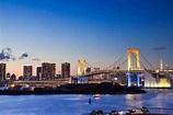 台場彩虹橋的絕色美景|絕景日本