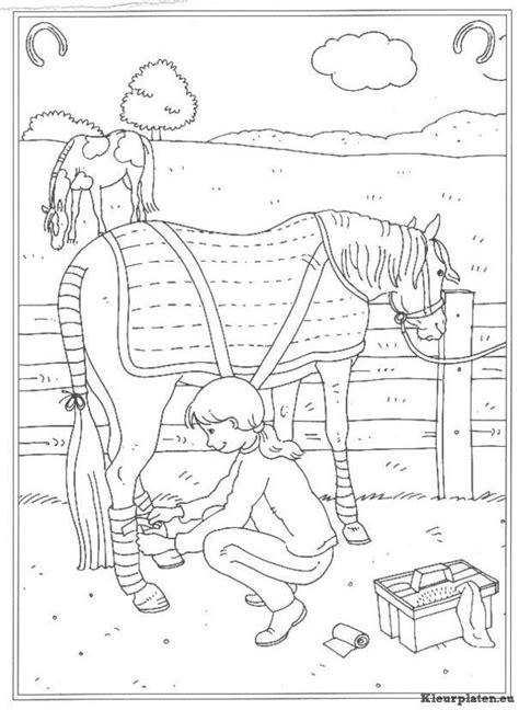 Kleurplaat Paarden Manege by Op De Manege Kleurplaat 220912 Kleurplaat