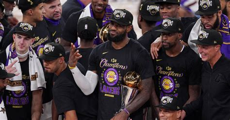 Los Angeles Lakers win NBA Finals; LeBron James secures ...