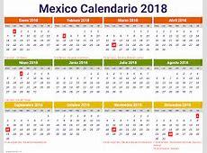 Calendario 2018 mexico 1 2019 2018 Calendar Printable