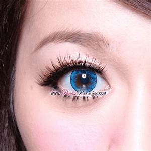 EOS Ice Blue Circle Lenses (Colored Contacts) | PinkyParadise