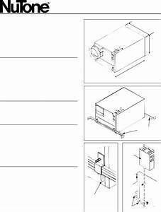 Nutone 9965 User Manual