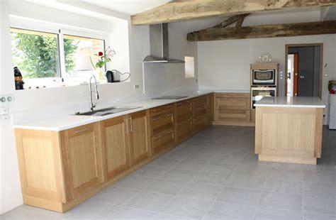 peindre cuisine chene davaus peindre cuisine chene en blanc avec des