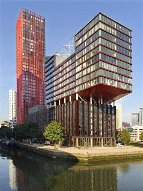 Red Apple Rotterdam, Wijnhaven Island - e-architect