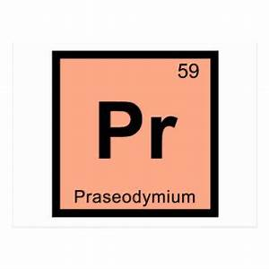 Praseodymium Gifts on Zazzle