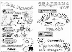 La Catequesis (El blog de Sandra): Cuadernillo de fichas para imprimir y colorear Cuaresma 2018