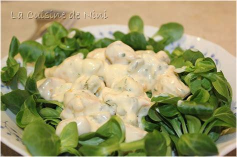 cuisine de nini salade de poulet la cuisine de nini