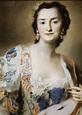 Countess Anna Katarina Orzelska, ca. 1630 (Rosalba ...
