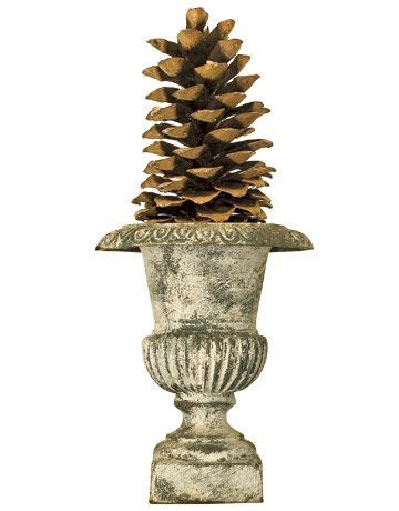 Topiaries, Pine cones and Pine on Pinterest