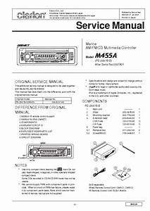 Clarion M475 Service Manual Download  Schematics  Eeprom