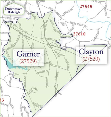 garner clayton community information