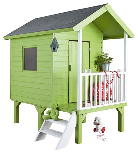 cuisine peinte cabane en bois pour enfant idées de décoration et de