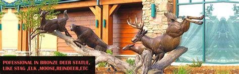 skyfall stag statue  sale life size deer yard ornaments bronzemetal deersegalesbullsdogs
