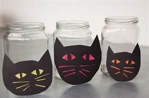 Halloween Basteln Gruselig : halloween basteln leuchtende nachtkatzen meine svenja ~ Whattoseeinmadrid.com Haus und Dekorationen