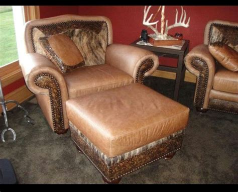 Cowhide Recliner by Cowhide Furniture Co Western Decor