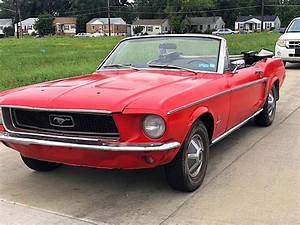 original 1968 Ford Mustang convertible for sale