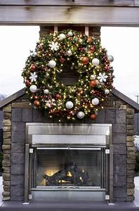 Large, Outdoor, Commercial, Christmas, Wreaths