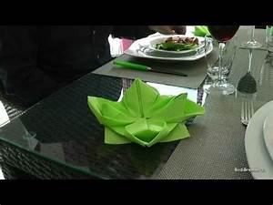 Fleur En Papier Serviette : pliage d 39 une serviette de papier en fleur de lotus acc l r youtube ~ Melissatoandfro.com Idées de Décoration