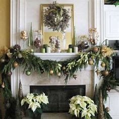 images  mantles christmas  pinterest