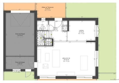 plan maison rdc 3 chambres vos avis sur plan maison r 1 90 m2 3 chambres 30 messages
