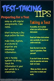 Image result for Test-Taking Posters