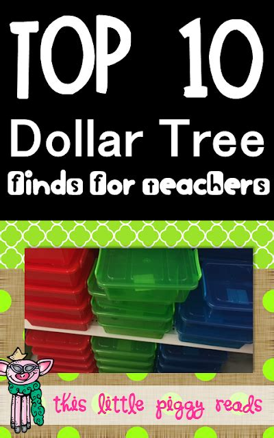 This Little Piggy Reads Top 10 Dollar Tree **finds