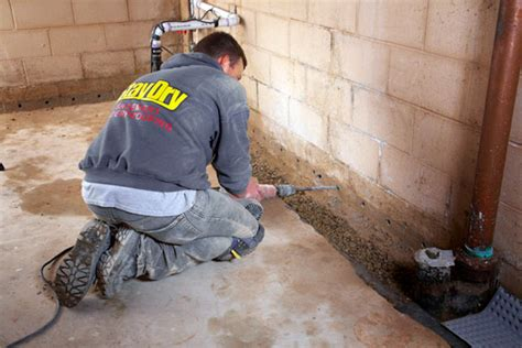french drains basements french drain basement solutions
