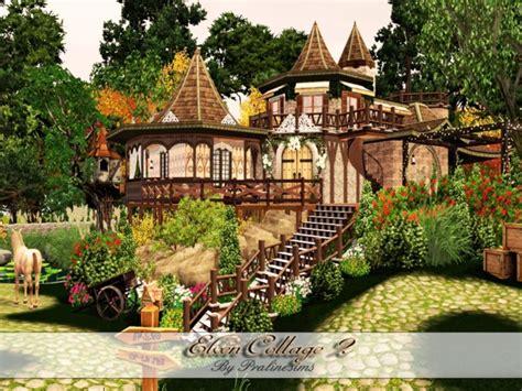 pralinesims elven cottage