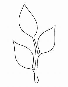 Stem and leaf pattern. Use the printable outline for ...