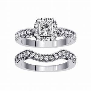 Wedding rings sets for women wedding promise diamond for Ladies diamond wedding ring sets