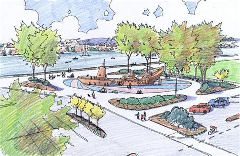 waterfront vallejo plan master location project