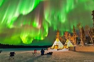 Dazzling Displays of Aurora Borealis Dance Across The ...