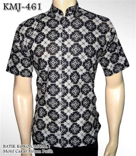 batik koko casual kemeja batik kombinasi seragam batik elegan grosir batik berkualitas