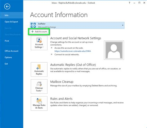 Office 365 Outlook Gmail Settings by Gmail Configure Outlook For Windows Office Of