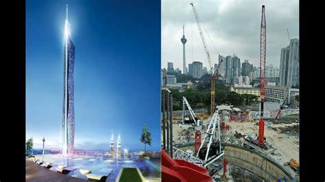 Merdeka PNB118 Tower/kuala lumpur- August 2017 Update