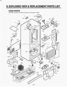 Lg Lrfd25850tt Parts List And Diagram   Ereplacementparts Com