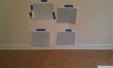 paint color testing testing paint colors sherwin williams sleepy blue is the