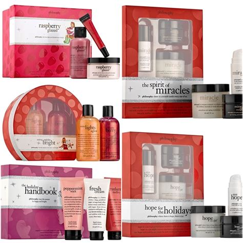 philosophy holiday 2014 gift sets beauty and cosmetics