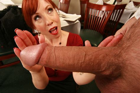 Milf redhead takes a huge cock at work - Pichunter
