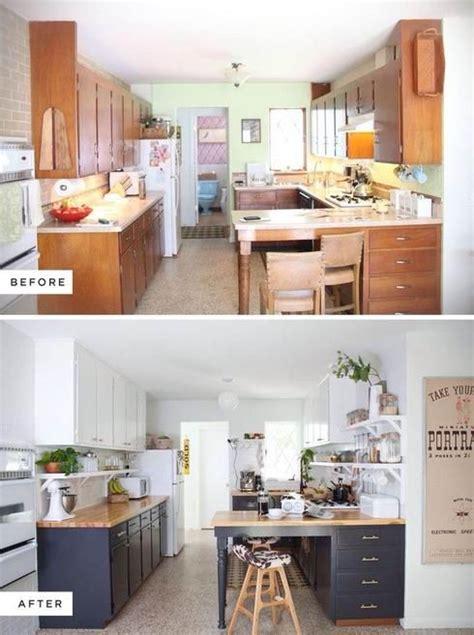 peinture d armoire de cuisine 10 façons de transformer ses armoires de cuisine sans les