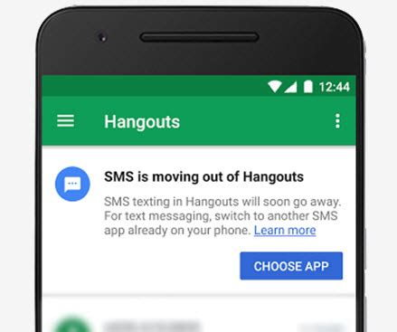 hangouts bez wiadomości sms od 22 maja softonet pl