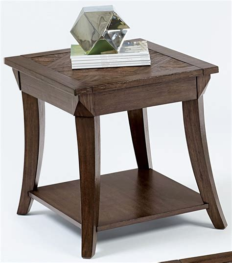 end table with l appeal l poplar rectangular end table from