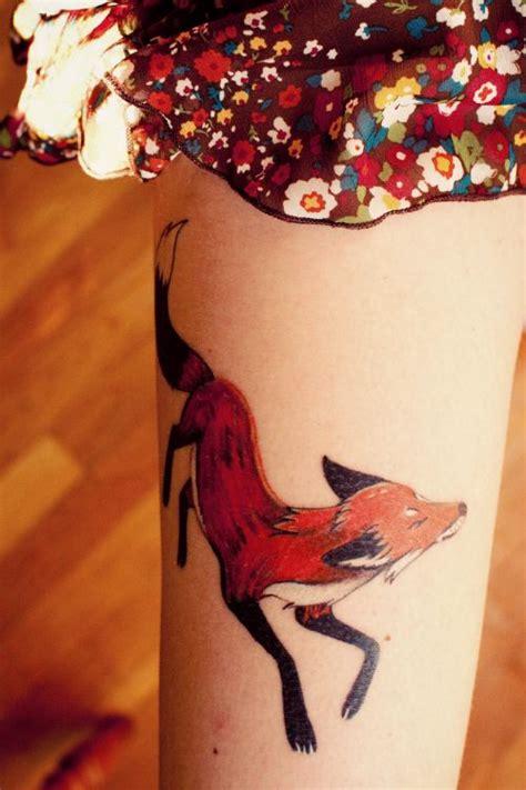 ideas  small fox tattoo  pinterest small