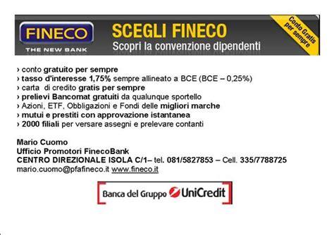 Fineco Sede Legale Fineco Intercral Polizia Italia Web Site Convenzioni