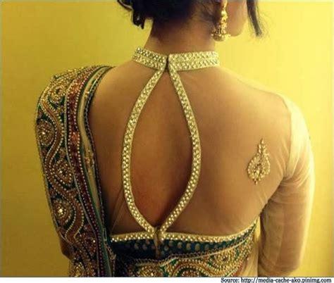 ladies latest fashion  style latest saree blouse