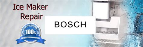 bosch ice maker repair houston authorized service page