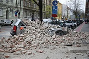 One critical and damage to buildings and churches in ...